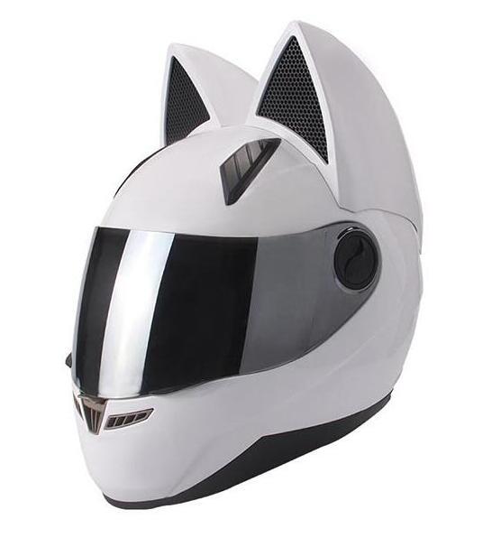 Comprar cascos con orejas de gato para mujeres
