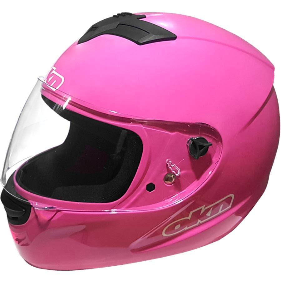Los mejores cascos rosa para chicas motociclistas