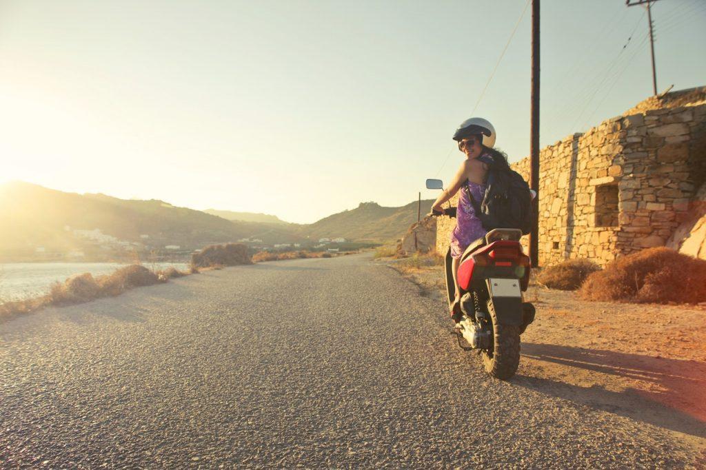 casco de moto para chica