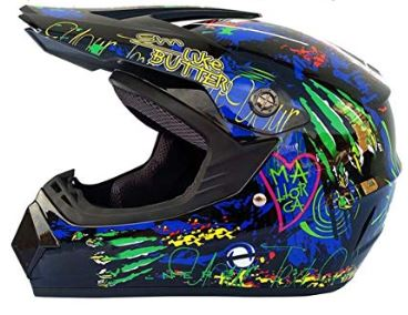 casco de motocross mujer