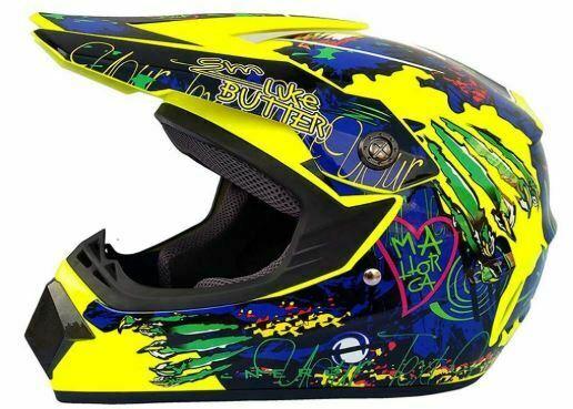 casco motocross mujer