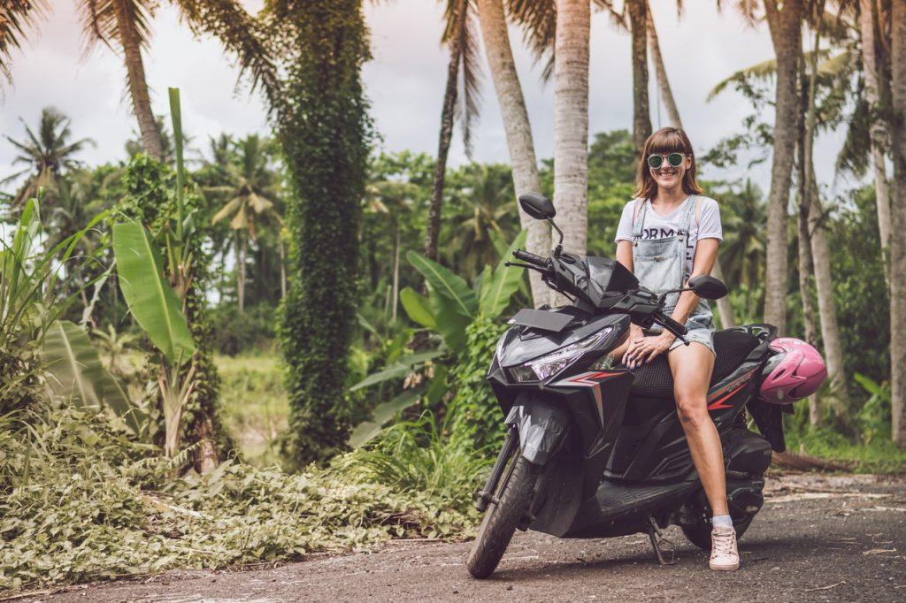 cascos de moto para mujer motociclistas