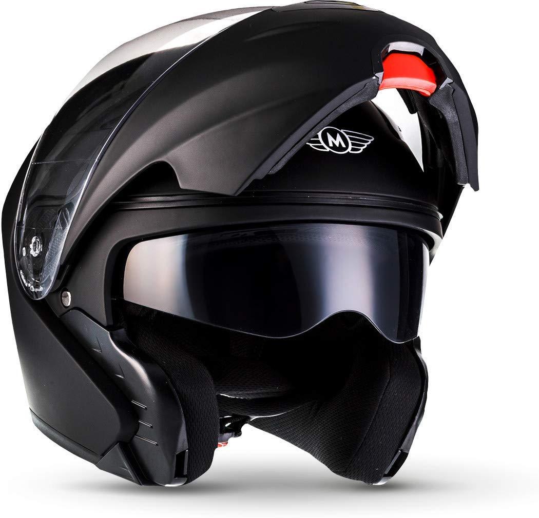 cascos de moto para mujer modulares