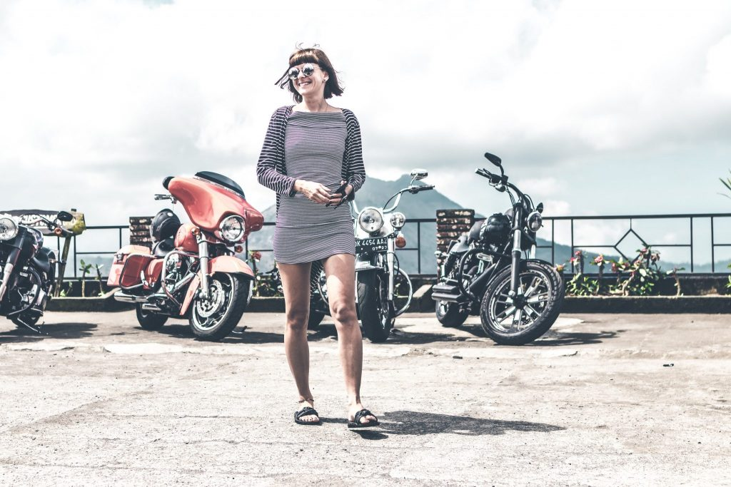 mujeres motociclistas en aumento