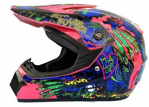 casco motocross femenino