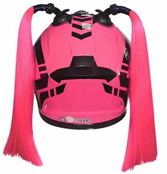 cascos de moto para mujer contrenzas